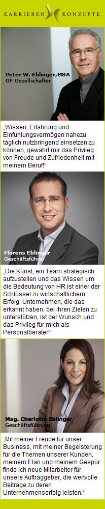 Eblinger & Partner - Management